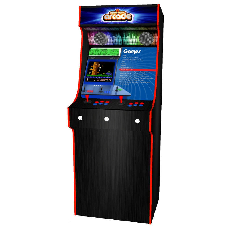 arcade upright - maximus arcade red tmold