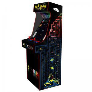 arcade upright - pacman theme red tmold