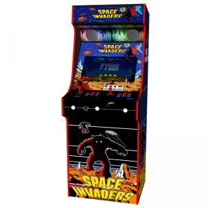 arcade upright - space invaders red tmold