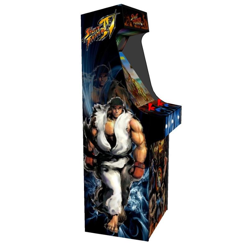arcade upright - street fighter theme black tmold