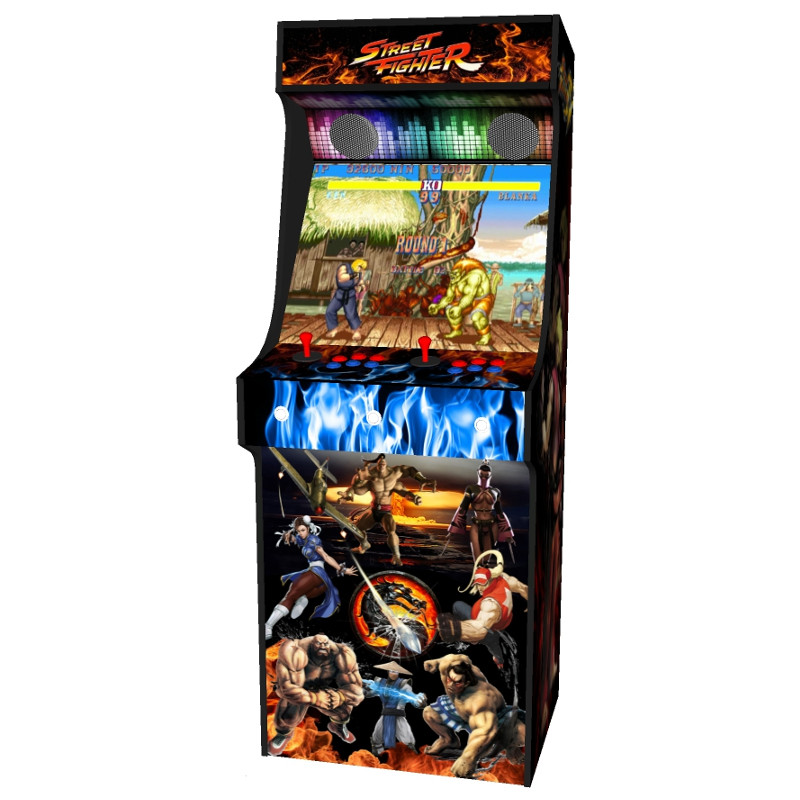 arcade upright - street fighter theme