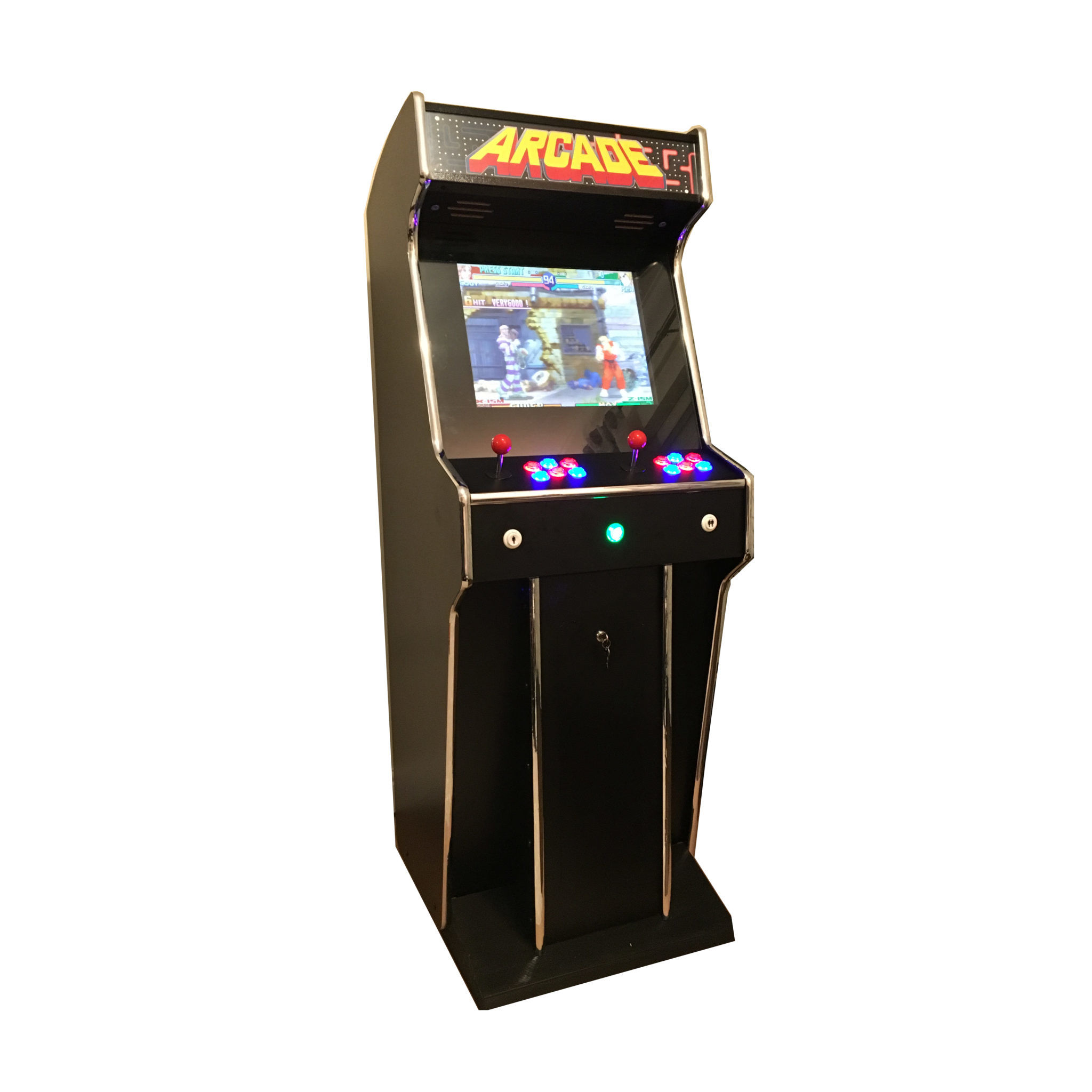 classic upright arcade machines the coolest addition to your venue. Black Bedroom Furniture Sets. Home Design Ideas