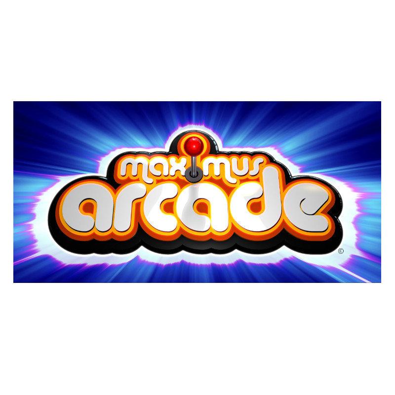 Classic Upright Arcade Machine with 6000+ Games - Maximus Theme - arcadecity