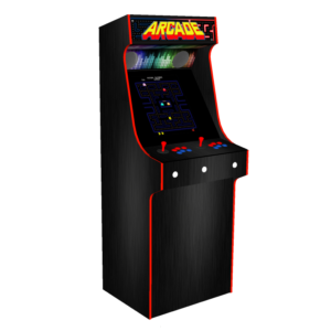 Classic Upright Arcade Machine With Custom Options