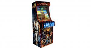 arcade upright - street fighter - red tmold