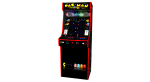 Classic Upright Arcade Machine - PacMan Theme Middle - V2