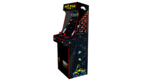 Classic Upright Arcade Machine - PacMan Theme Right - V2