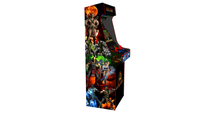 Classic Upright Arcade Machine - Mortal Kombat theme - Left v3.1
