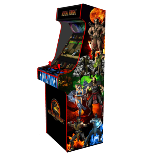 Classic Upright Arcade Machine - Mortal Kombat theme - Right v3.1