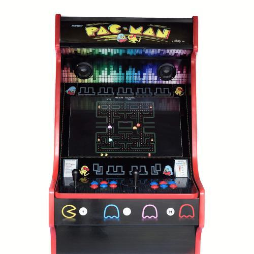 Classic Upright Arcade Machine - PacMan Theme - middle