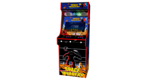 Classic Upright Arcade Machine - Space Invaders Theme Middle - v2