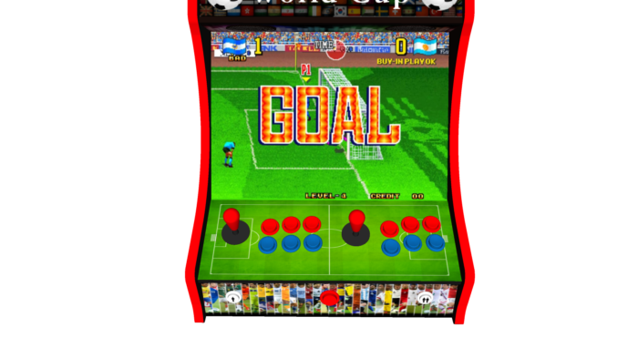 Classic Bartop Arcade - Football theme - Controls