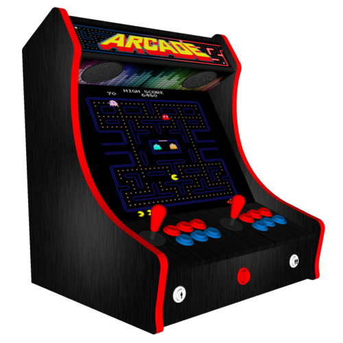 Space Invaders Bartop Arcade Machine with 15000 Games, RGB LEDs