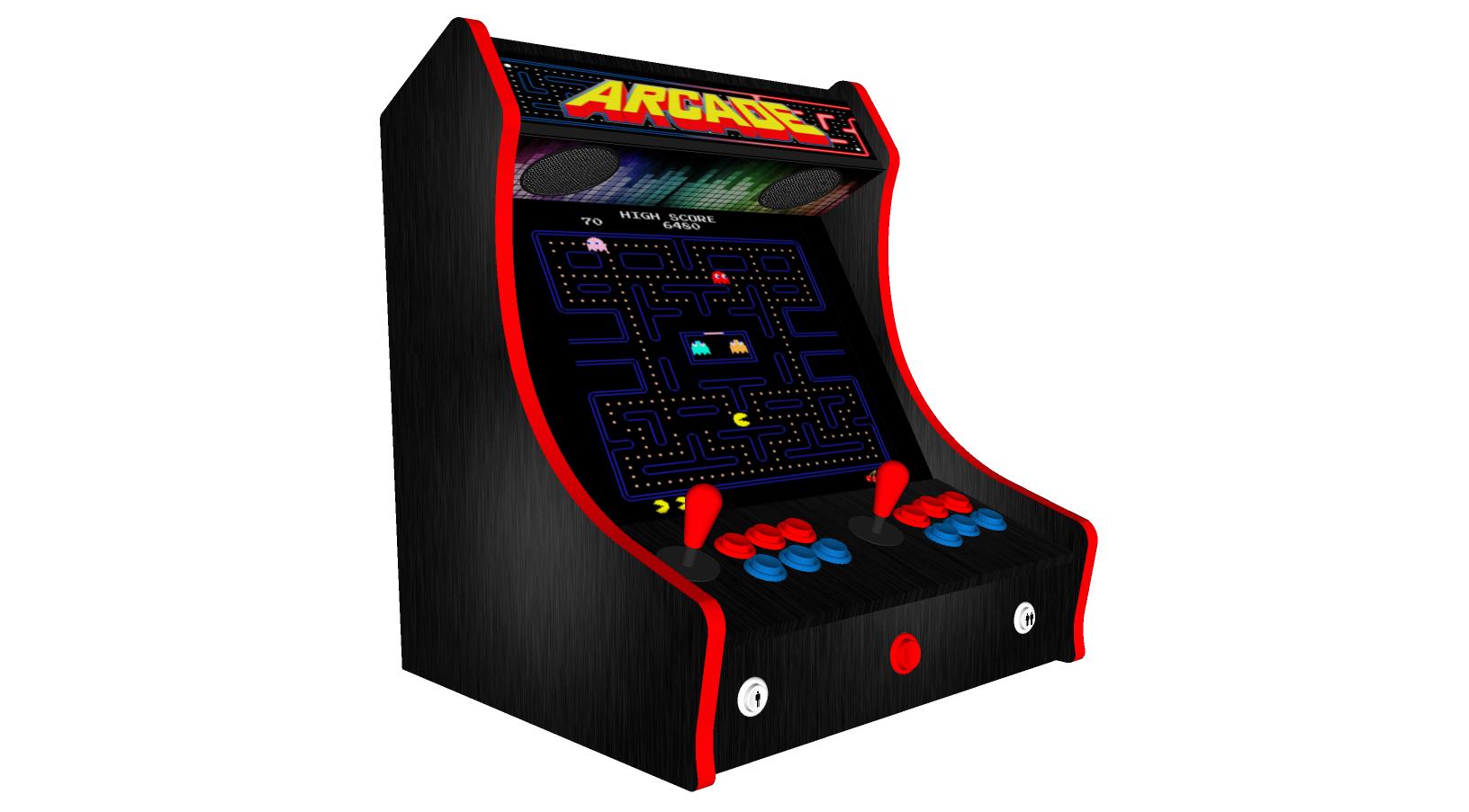 Retro Design Bartop Arcade Machine Bundled with Over 15000 ...