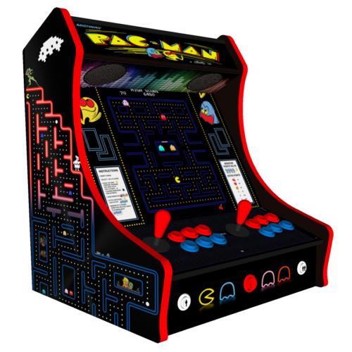 Classic Bartop Arcade - PacMan theme - left