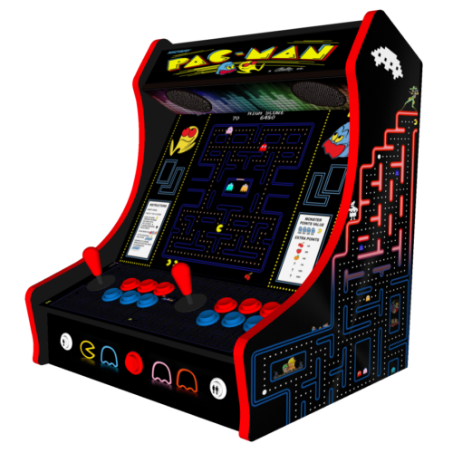 Classic Bartop Arcade - PacMan theme - right