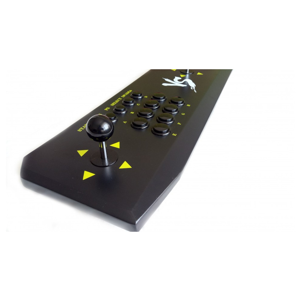 2in1 Fightstick for ps3 xbox 360 PC Raspberry Pi and Arcade Console with 680 games 2
