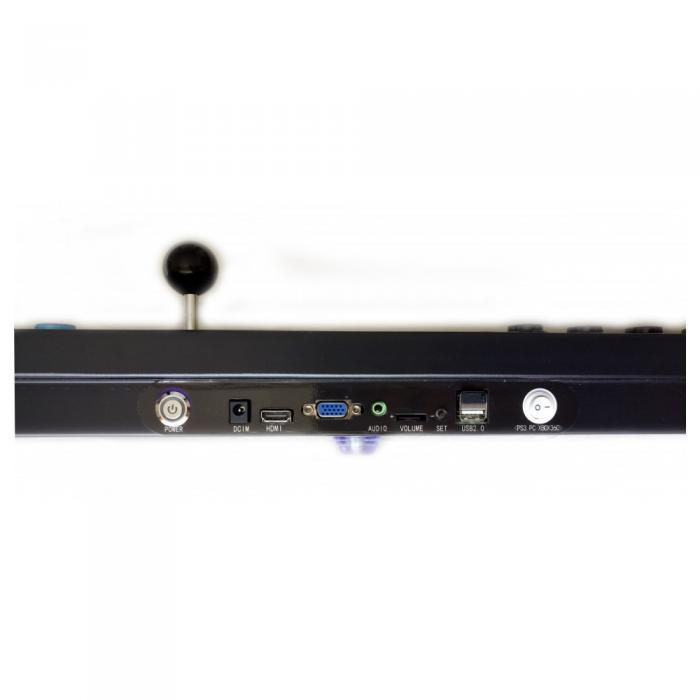 2in1 Fightstick for ps3 xbox 360 PC Raspberry Pi and Arcade Console with 680 games back connections