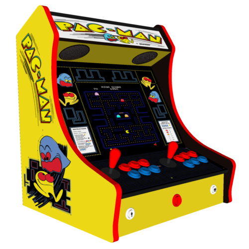 Classic Bartop Arcade - PacMan Original theme - Left