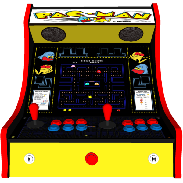 Classic Bartop Arcade   PacMan Original Theme   Middle