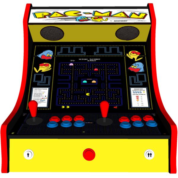 Classic Bartop Arcade   PacMan Original Theme   Middle