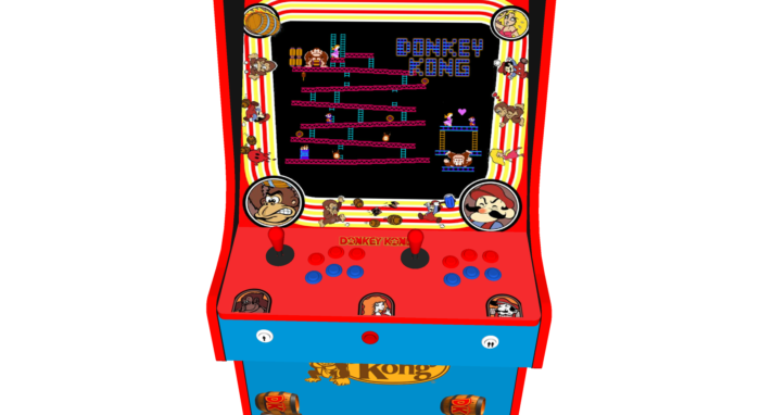 Classic Upright Arcade Machine - Donkey Kong - Buttons v2