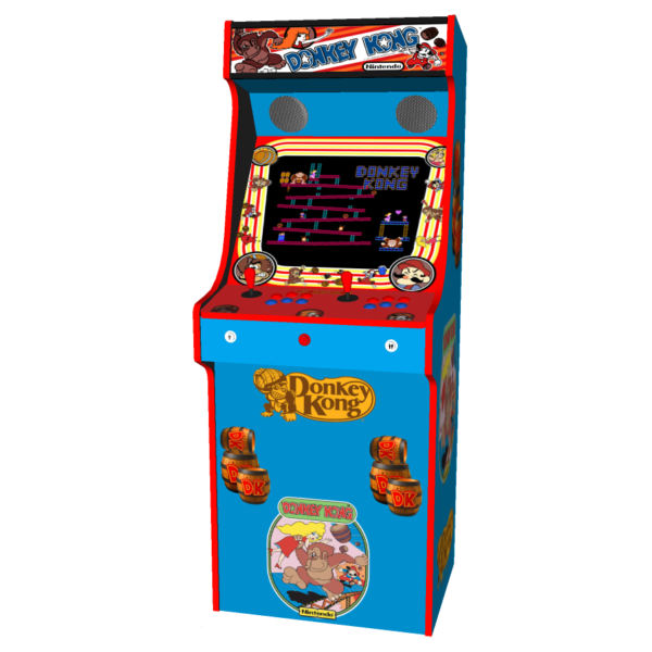 Donkey Kong, Upright Arcade Machine, 520 Games - arcadecity