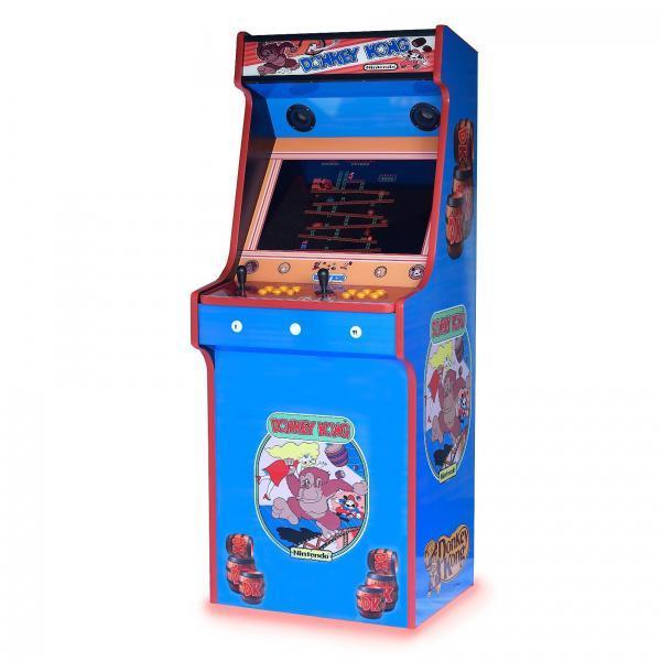 Retro Upright Arcade Machine Donkey Kong Art 815 Games