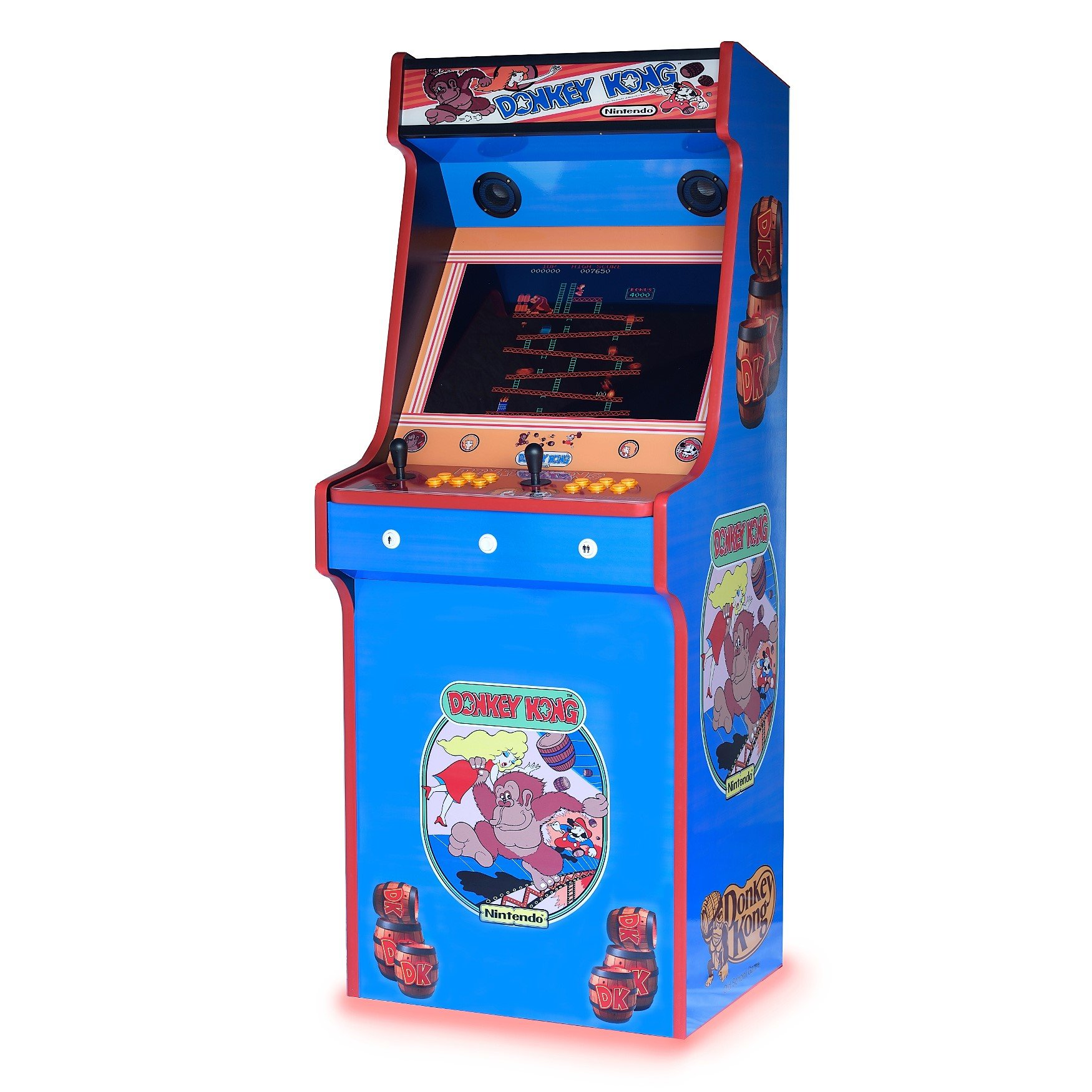 Donkey Kong Upright Arcade Machine 520 Games Arcadecity