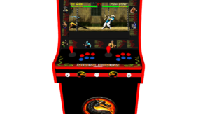 Classic Upright Arcade Machine - Mortal Kombat theme - Buttons v2.1