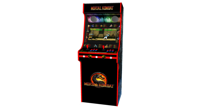 Classic Upright Arcade Machine - Mortal Kombat theme - middle v2.1