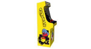 Classic Upright Arcade Machine - Original PacMan Theme - Left v2