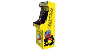 Classic Upright Arcade Machine - Original PacMan Theme - Right v2