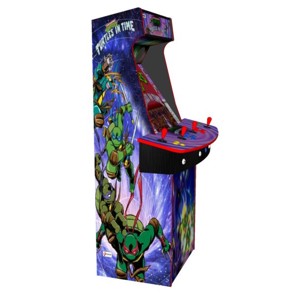 Teenage Mutant Ninja Turtles In Time TMNT, 4 Player Upright Arcade ...