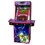 Teenage Mutant Ninja Turtles In Time TMNT - Upright Arcade 4 Player - Middle