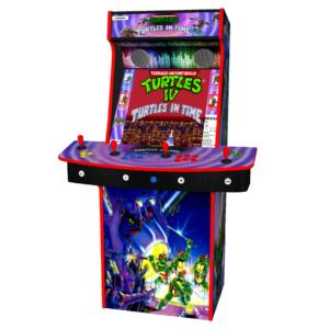 4 Player Upright Arcade, Multi Game, Teenage Mutant Ninja TMNT ...