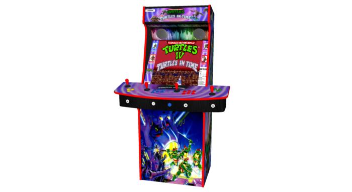 Teenage Mutant Ninja Turtles In Time TMNT - Upright Arcade 4 Player - Middle