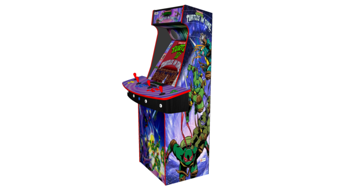 Teenage Mutant Ninja Turtles In Time TMNT - Upright Arcade 4 Player - Right