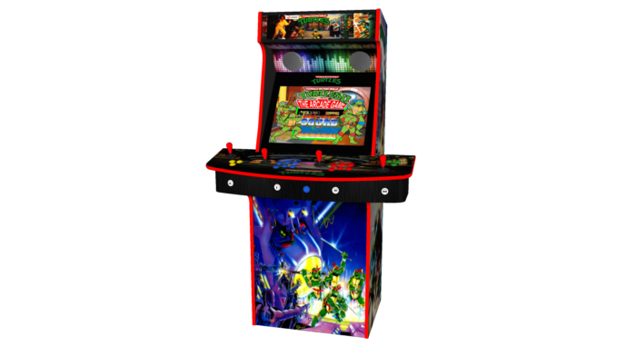 Teenage Mutant Ninja Turtles TMNT - Upright Arcade 4 Player - Middle