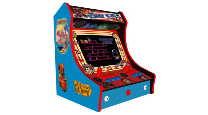 Classic Bartop Arcade - Donkey Kong theme - Left
