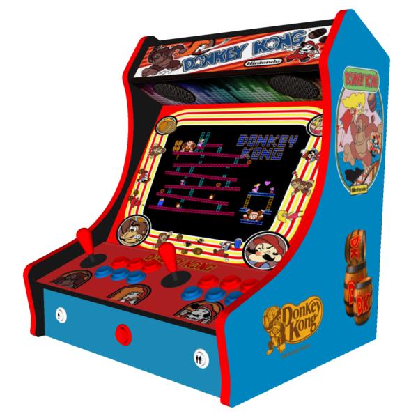 Classic Bartop Arcade   Donkey Kong Theme   Right