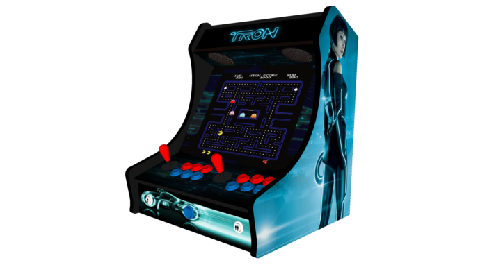 Classic Bartop Arcade - TRON theme - right