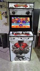 Upright Arcade Machine Street Fighter 5 black and white Theme (6)