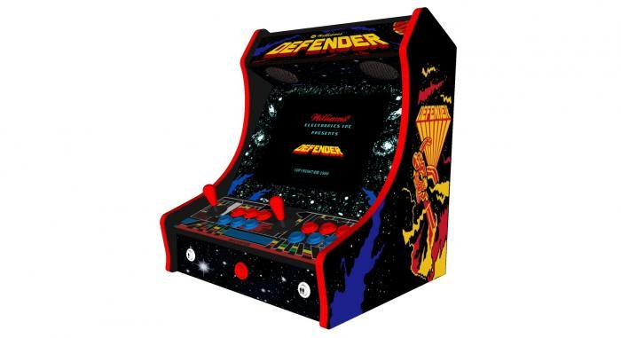 Classic Bartop Arcade Machine with 619 Games Defender theme - Right