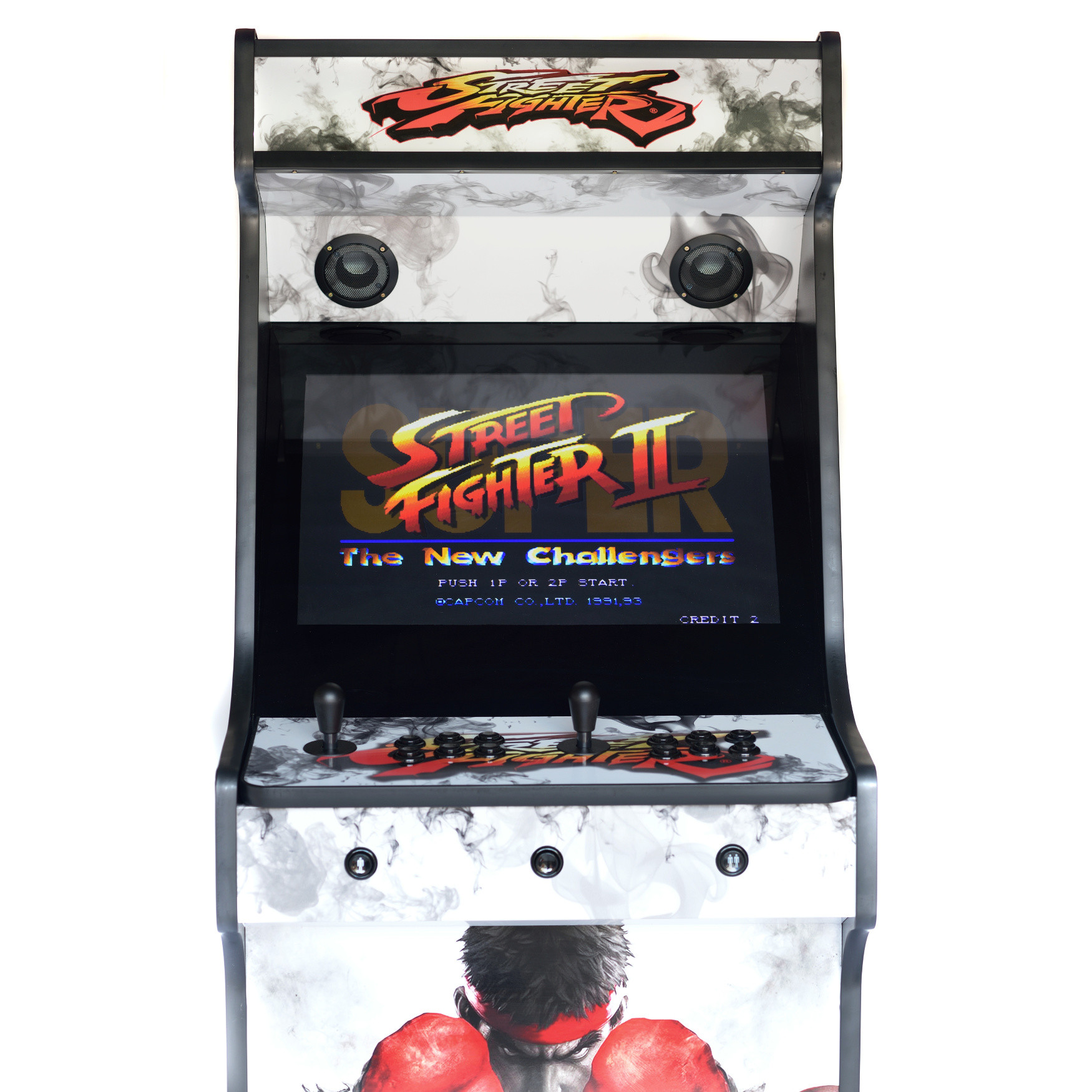 Classic Upright Arcade Machine - Street Fighter 5 Theme - Middle