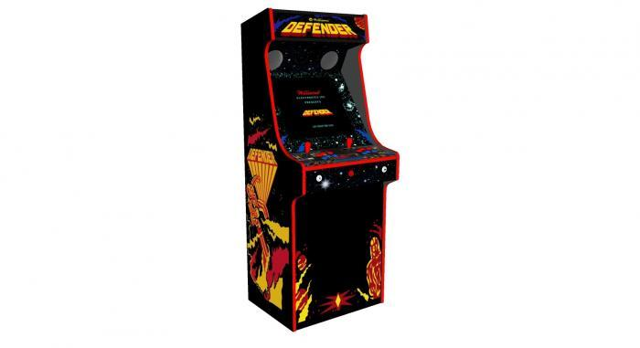 Defender Arcade Machine 2 Player Upright - Left
