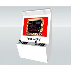 Wall Arcade machine with 815 Games Black And White
