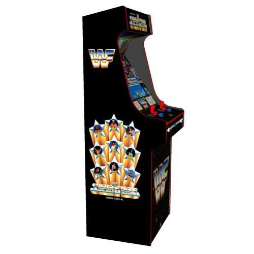 WWF Superstars Classic Upright Arcade Machine - left