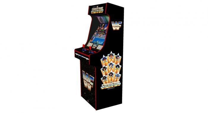 WWF Superstars Classic Upright Arcade Machine - right