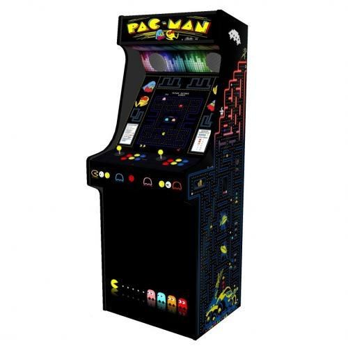 Classic Upright Arcade Machine - PacMan Theme - V2 - retropi 15000 games subwoofer right
